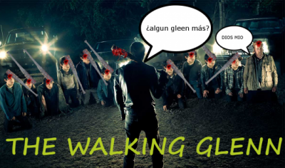 The walking Glenn