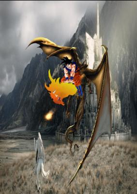 El Dragón Mutante Feliz