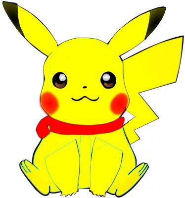 Pikachu en navidad