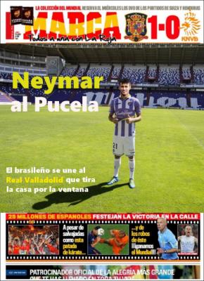 Neymar al Pucela